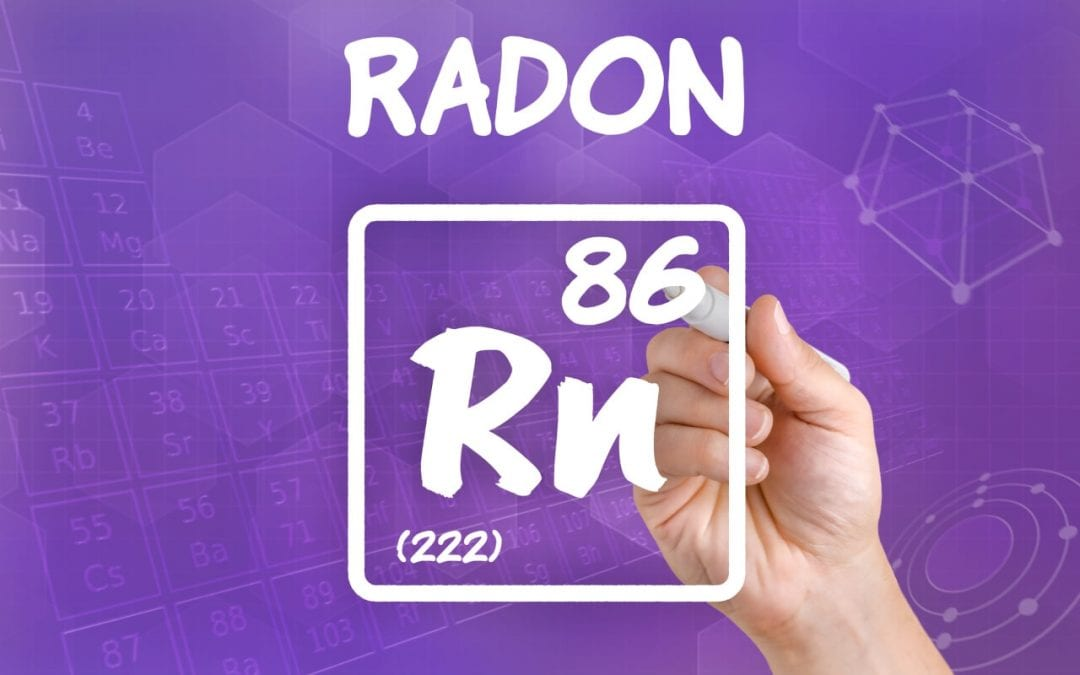 radon gas in the home
