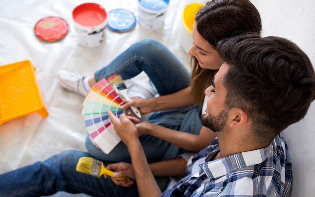 interior painting is great for winter home improvement